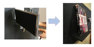 ※.マグネットは、磁力や接地面の大きさになど、さまざまな条件により耐荷重が変わるため、設置時は安全を確認しながらお使いください。