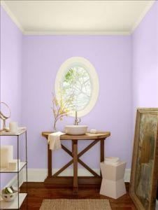 wdsベンジャミンムーア パープル lily lavender_2071-60